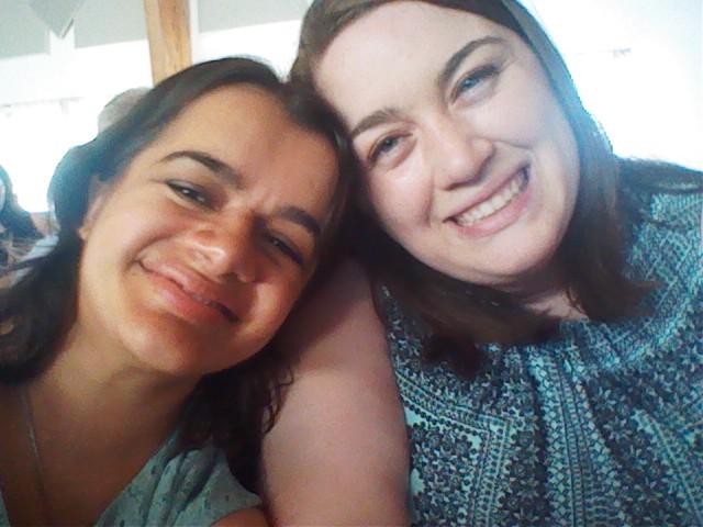 Jenna and Celina